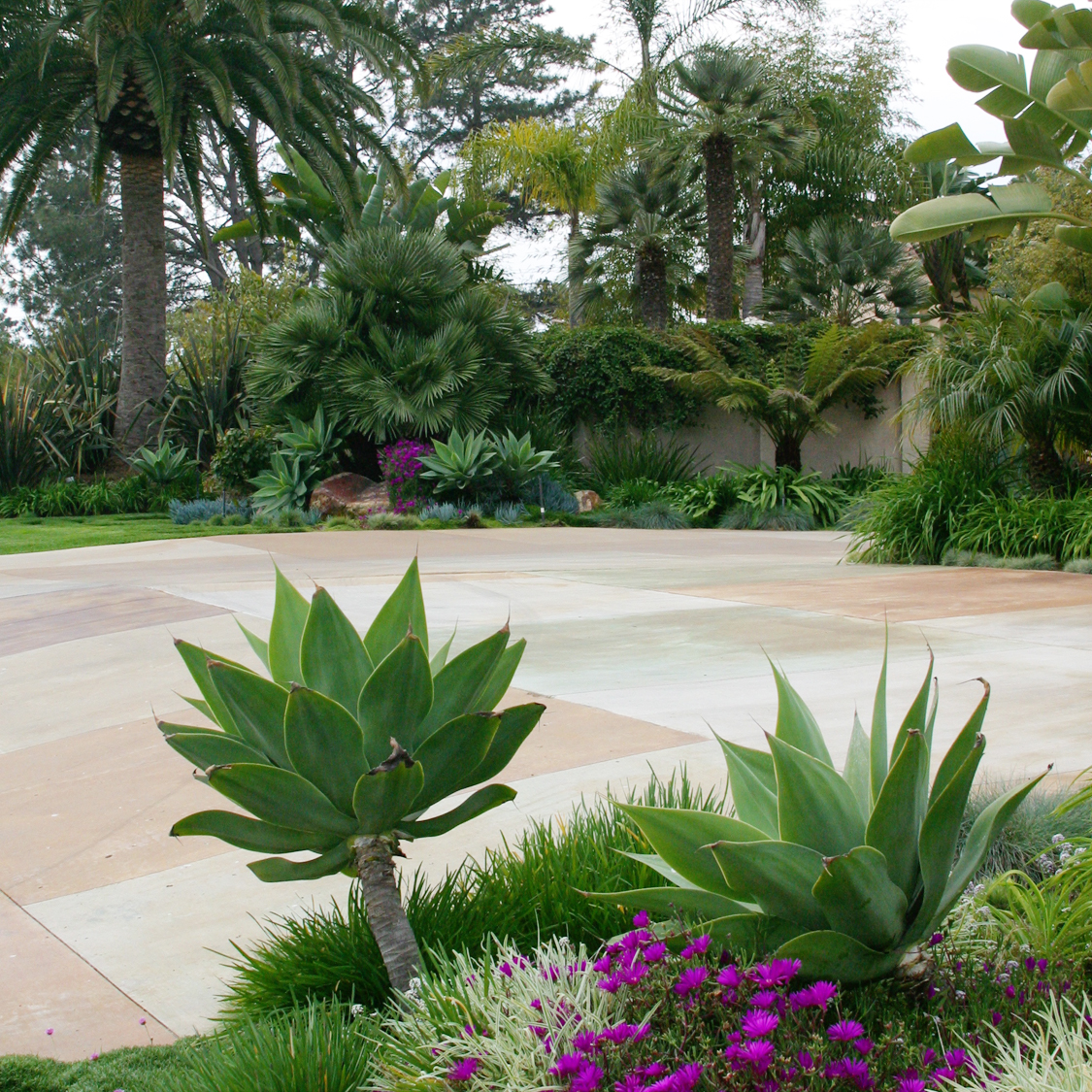 The perfect driveway landscaping