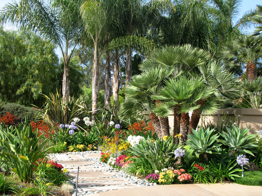 San diego landscape images House and garden online