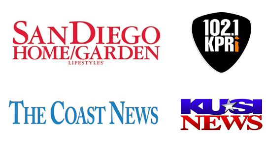 C & H Gardens is featured in San Diego Home and Garden, KUSI News, and more