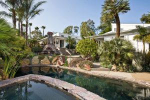 Landscape Design with Pool in North County